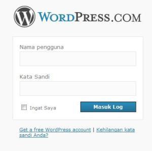 Masukkan Username dan Password-mu
