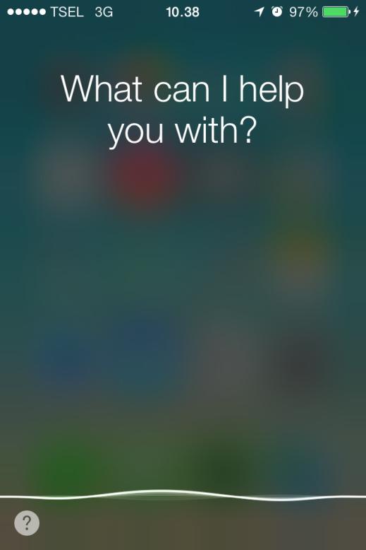 Facebook Siri iOS